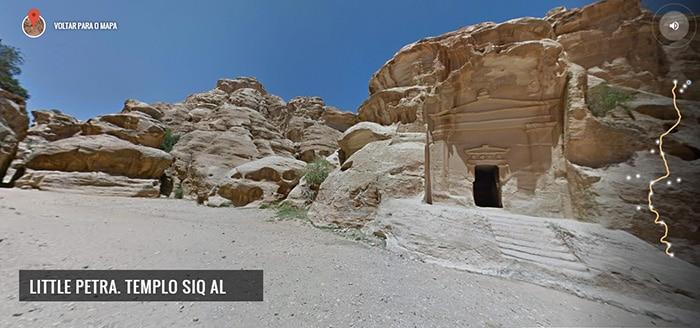 Templo Siq Al, em Petra