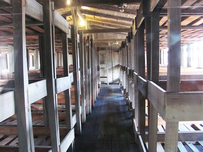 O local em que os presos dormiam   Foto por Poliana Mendonça