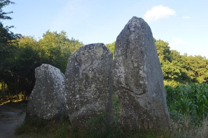 As pedras gigantes em Kerzerho   Foto por Grazi Calazans