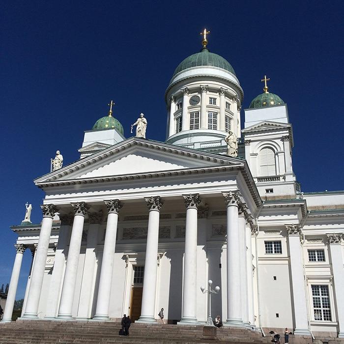 Catedral de Helsinque | Foto por José Sepulveda