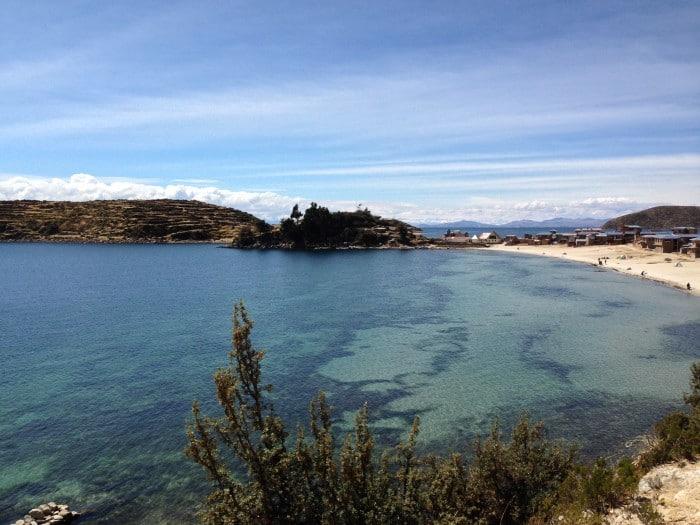 Isla del Sol no Lago Titicaca   Foto por Felipe Parma