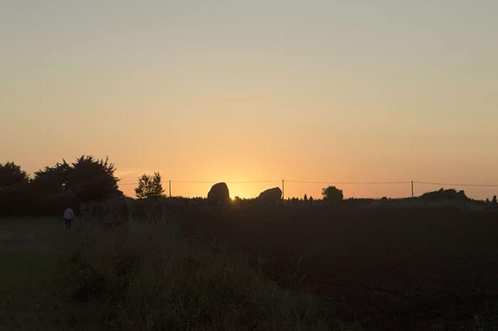 Pôr do sol em Sainte Barbe   Foto por Grazi Calazans