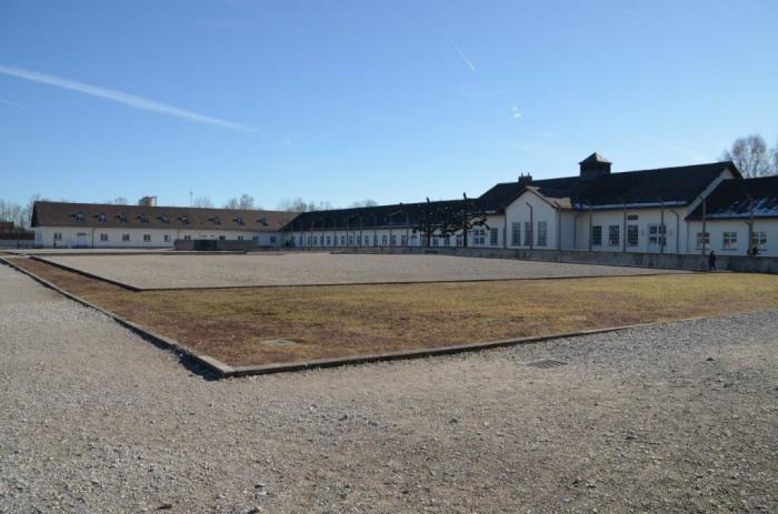 As instalações do campo de Dachau, próximo a Munique, no sul da Alemanha | Foto por Claudia Neujahr Klein