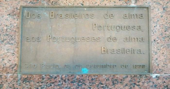 Homenagem à imigração brasileira e as relações entre Brasil e Portugal, em Póvoa do Varzim | Foto por Viviane Tessaroto