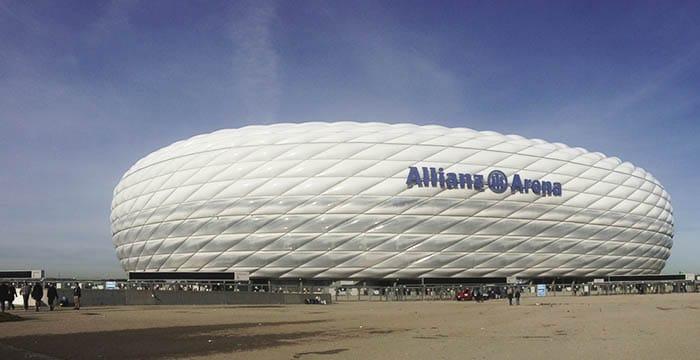 Allianz Arena, a casa do Bayern | Foto por Jamile Diniz