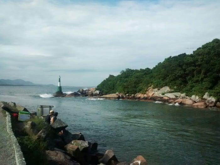 Canal da Barra da Lagoa  | Por Juliana Santos