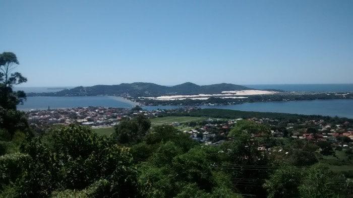 Florianópolis vista do Mirante da Lagoa | Por Juliana Santos