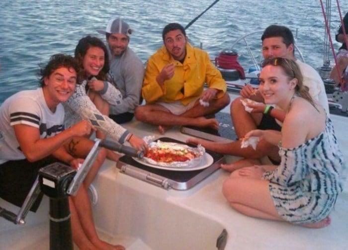 Comida une as pessoas! Ilhas Whitsunday, na Austrália | Foto Michelle Torres