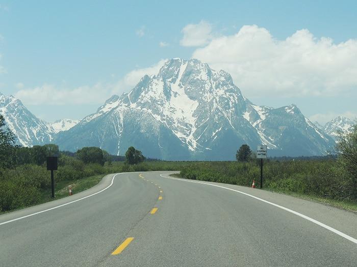 Dirigindo pelas estradas do Grand Teton | Foto Sabrina Levensteinas