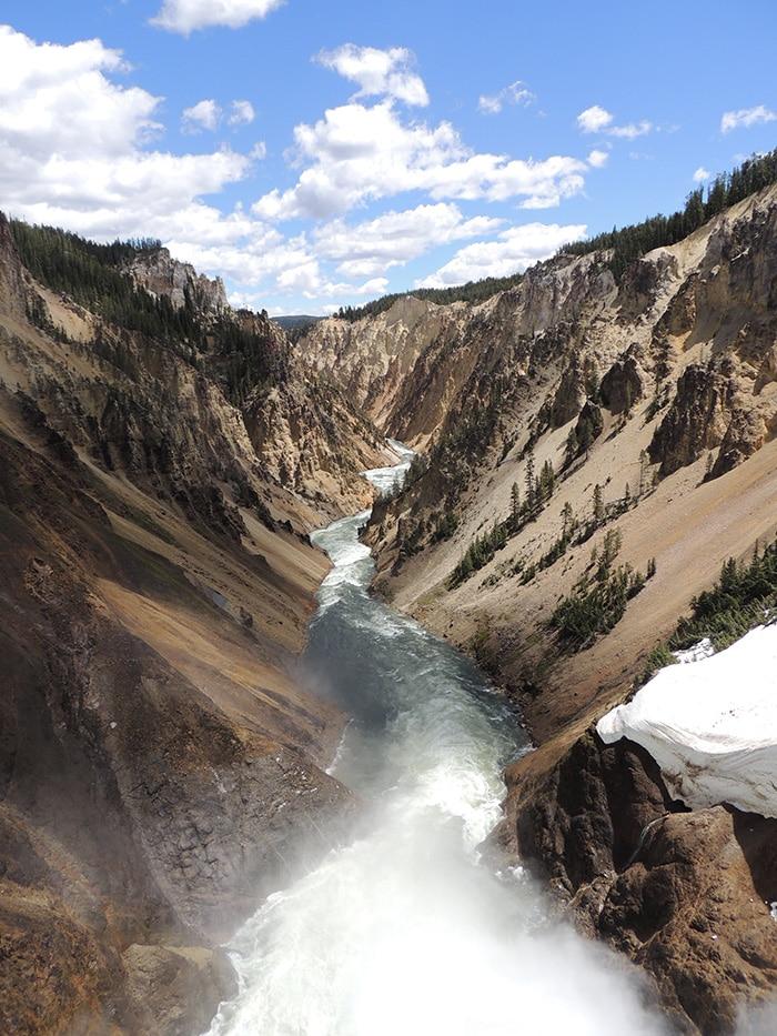 The Grand Canyon of Yellowstone | Por Sabrina Levensteinas
