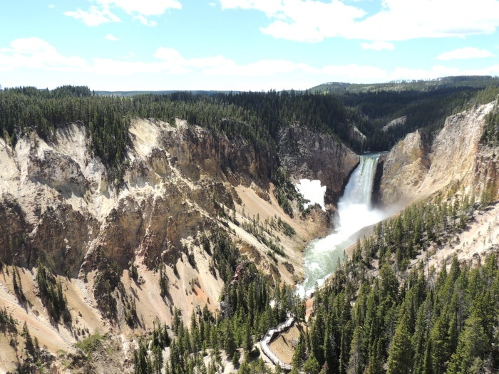 The Grand Canyon of Yellowstone | Foto Sabrina Levensteinas