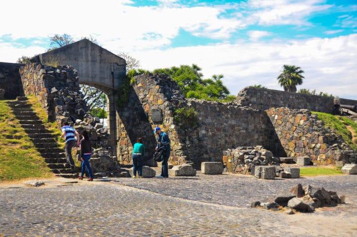 Marco de entrada para o centro histórico | Hélio Dias