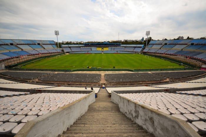 Sede da primeira Copa do Mundo, em 1930   Hélio Dias