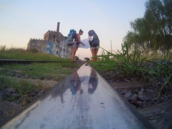 Saindo de Buenos Aires   Camila Bertassoni (arquivo pessoal)