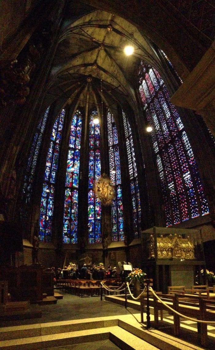 Interior da Catedral de Aachen | Foto Jamile Diniz