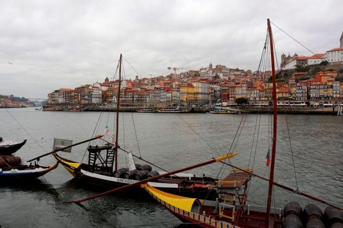 O Porto visto de Vila Nova de Gaia, cidade vizinha | Foto Juliana Maian