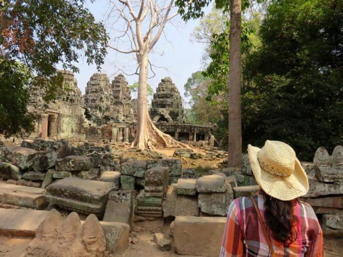 Ruínas de Angkor Wat