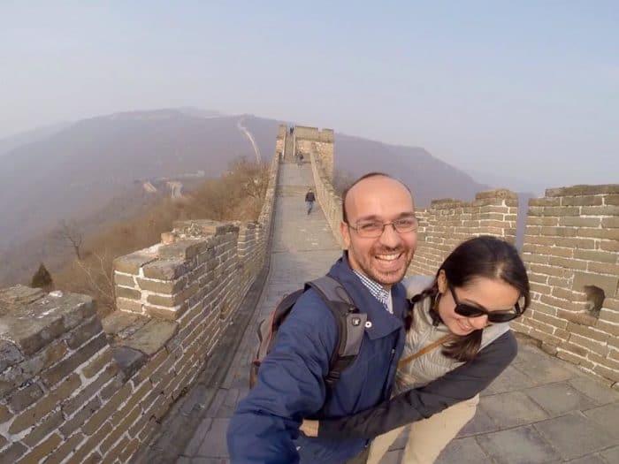 Grande Muralha da China, nas imediações de Pequim