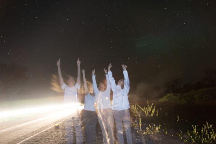 Noite na Chapada dos Veadeiros