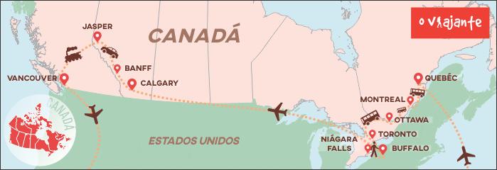 Mapa Viagem Zizo