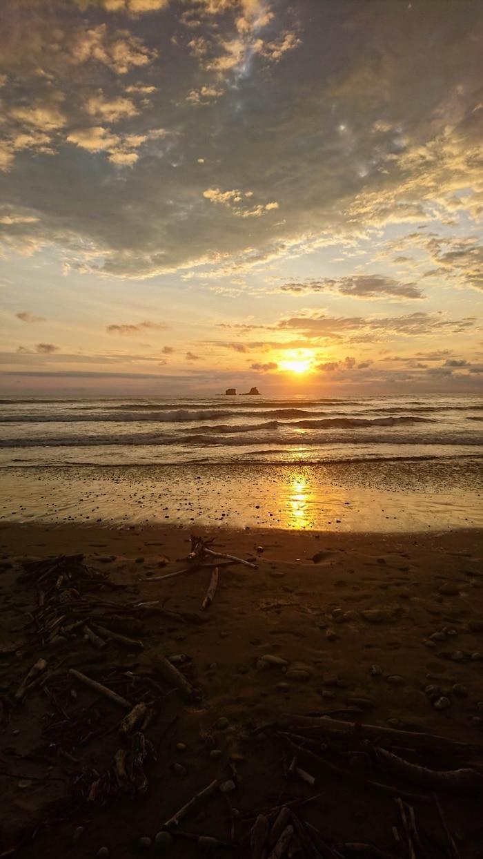 Pôr do sol em Ayampe