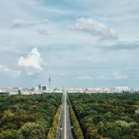 Vista da Coluna da Vitória